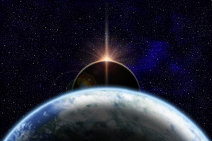 地球のイラストの写真素材 [FYI00073161]