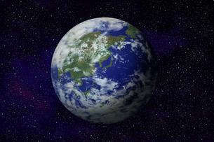 地球のイラストの写真素材 [FYI00073163]