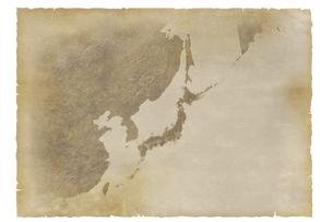 古い日本地図の写真素材 [FYI00073167]