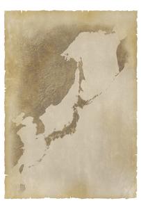 古い日本地図の写真素材 [FYI00073168]