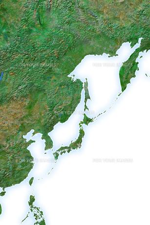 日本地図の写真素材 [FYI00073175]