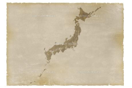 古い日本地図の写真素材 [FYI00073189]