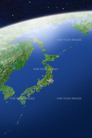 日本列島の写真素材 [FYI00073197]