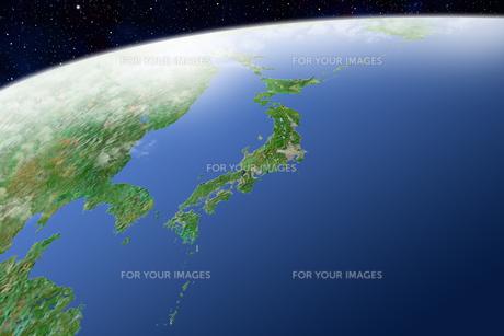 日本列島の写真素材 [FYI00073198]