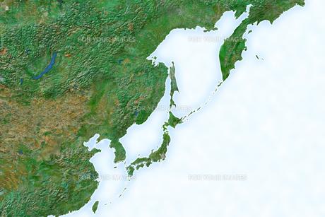 日本地図の写真素材 [FYI00073208]