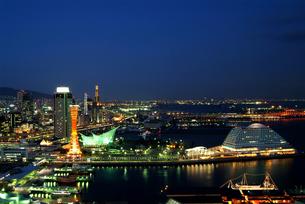 神戸夕景の写真素材 [FYI00073271]