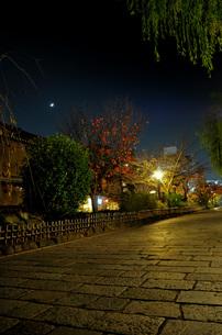 祇園の街並みの写真素材 [FYI00073353]