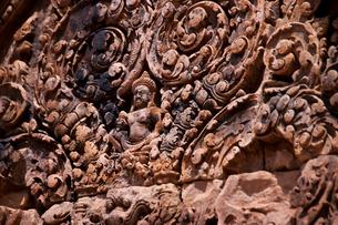 アンコール遺跡の彫刻の素材 [FYI00073391]
