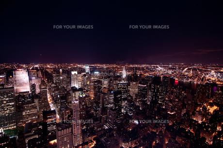 ニューヨーク夜景の素材 [FYI00073441]