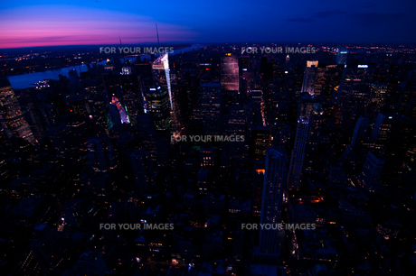ニューヨーク眺望の素材 [FYI00073444]