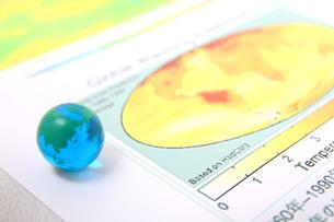 温暖化と地球の写真素材 [FYI00073448]