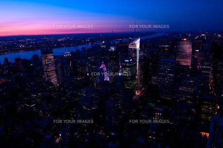 ニューヨーク眺望の素材 [FYI00073449]
