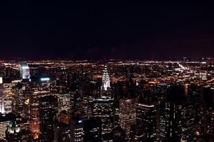 ニューヨーク夜景の素材 [FYI00073455]