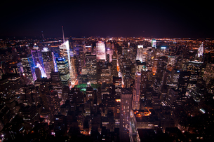 ニューヨーク夜景の素材 [FYI00073463]