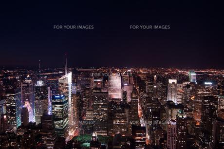 ニューヨーク夜景の素材 [FYI00073466]