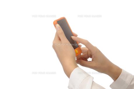 スマートフォンの素材 [FYI00073549]