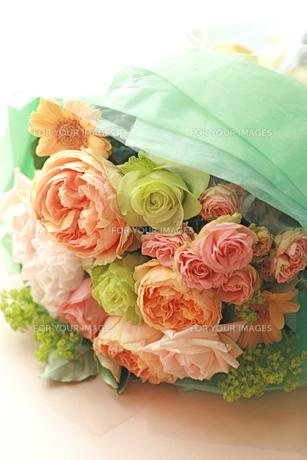 パステル花束の写真素材 [FYI00073767]