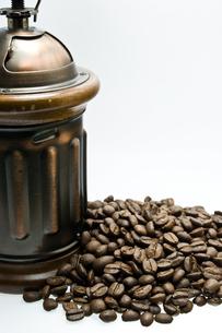 コーヒー豆の写真素材 [FYI00073794]