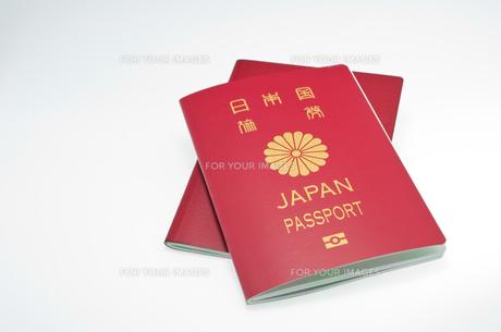 パスポートの写真素材 [FYI00073809]