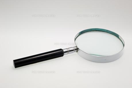 虫眼鏡の写真素材 [FYI00073823]