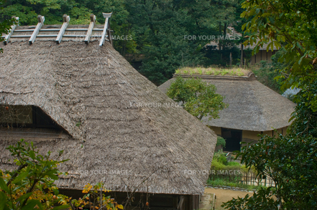 屋根の写真素材 [FYI00073833]