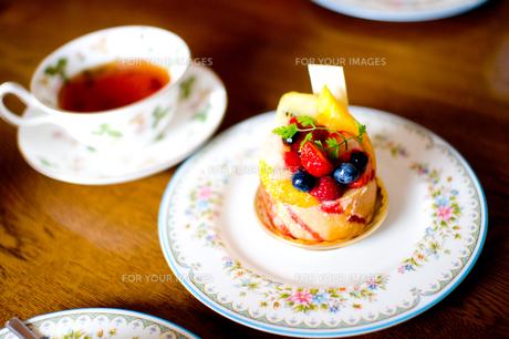 ケーキの写真素材 [FYI00073835]