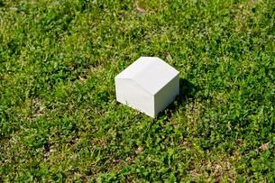 白い住宅の写真素材 [FYI00073882]