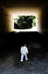 トンネルの写真素材 [FYI00073938]