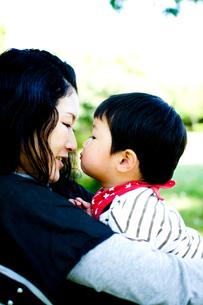 母子の写真素材 [FYI00073949]