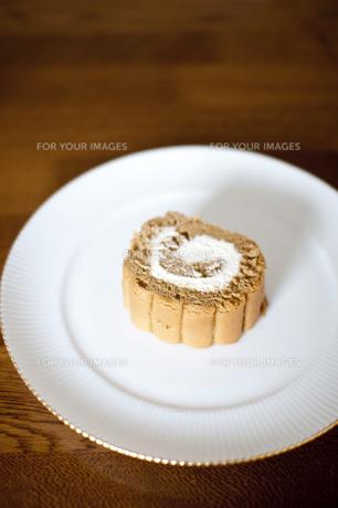 ロールケーキの写真素材 [FYI00074007]