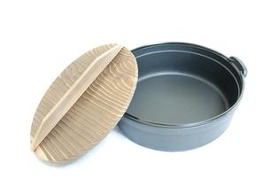 鉄鍋の写真素材 [FYI00074075]