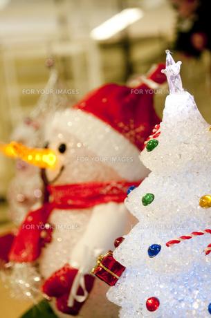 クリスマスツリーの写真素材 [FYI00074162]