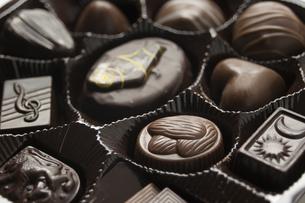 バレンタインデーのチョコレートの写真素材 [FYI00074275]