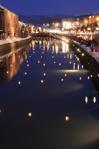 運河夕景の写真素材 [FYI00074808]