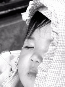 赤ちゃんの写真素材 [FYI00075273]