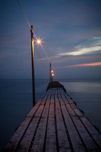 桟橋の写真素材 [FYI00075327]