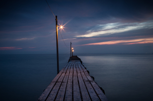 桟橋の写真素材 [FYI00075337]