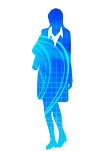 スーツ姿の女性の写真素材 [FYI00075357]