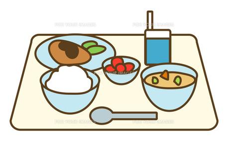 給食の写真素材 [FYI00075374]
