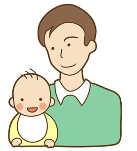 父親と子供の写真素材 [FYI00075383]