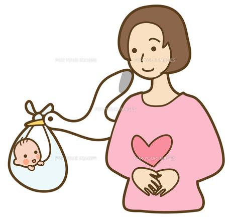 妊娠の写真素材 [FYI00075393]
