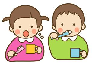 歯磨きの写真素材 [FYI00075399]