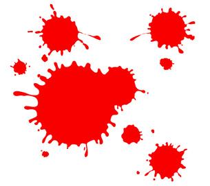 血痕の写真素材 [FYI00075433]