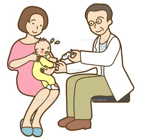 予防接種の写真素材 [FYI00075440]