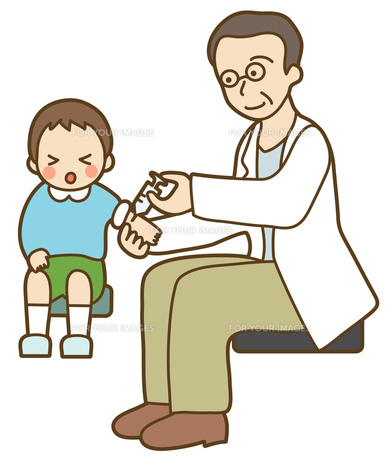 予防接種の写真素材 [FYI00075458]