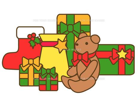 クリスマスプレゼントの写真素材 [FYI00075467]