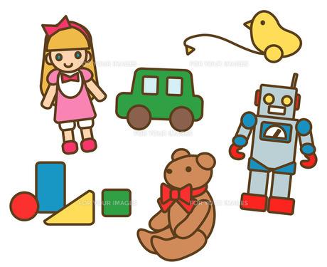 おもちゃの写真素材 [FYI00075481]