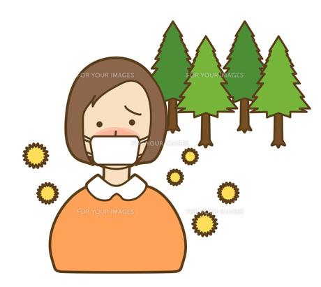 花粉症の写真素材 [FYI00075493]