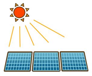 太陽光発電の写真素材 [FYI00075503]