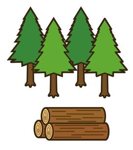 木材の写真素材 [FYI00075507]
